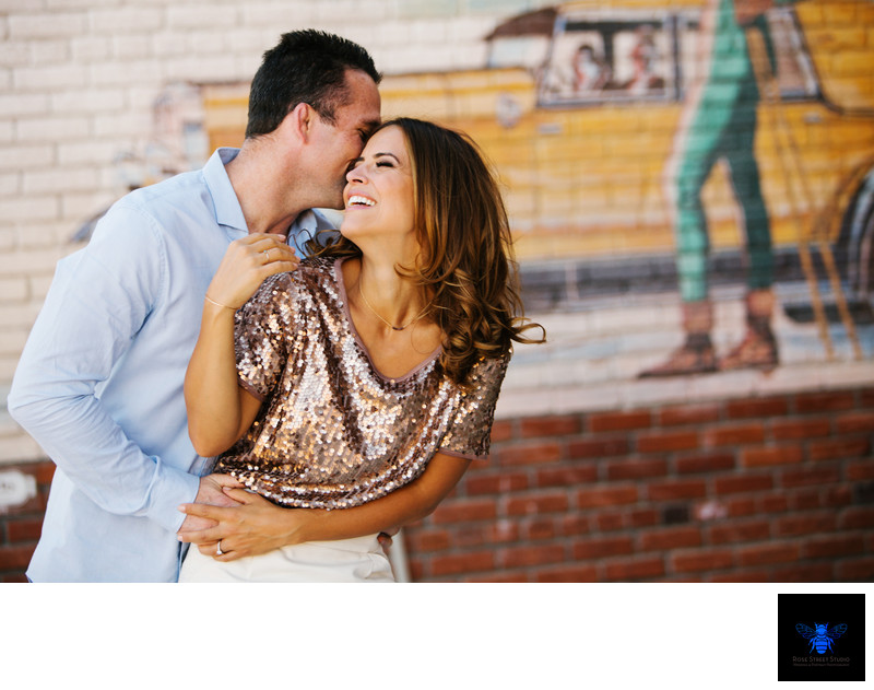 Downtown Truckee Engagement Session