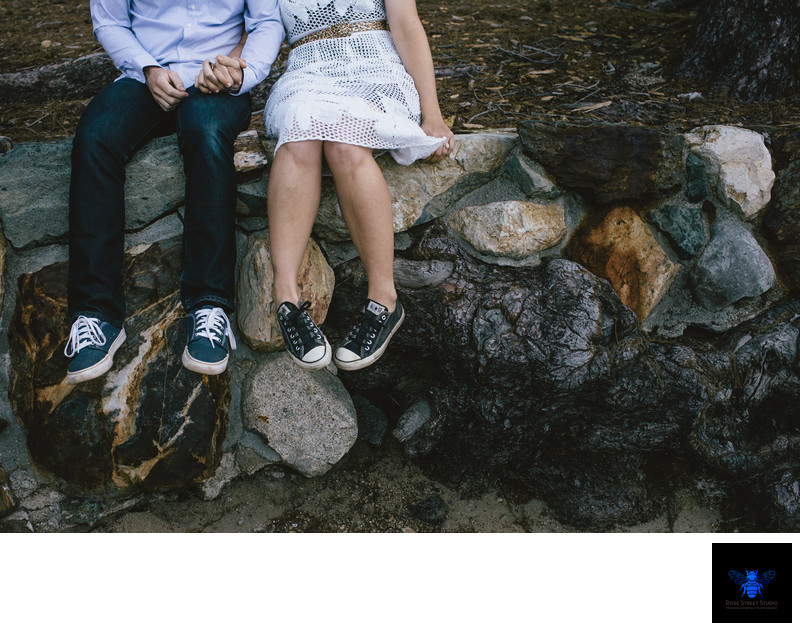 Fun Engagement Photographer in South Lake Tahoe