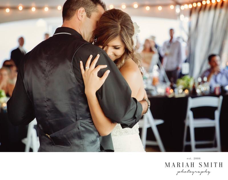 Lakeside Wedding Reception Wedding Portrait Commercial