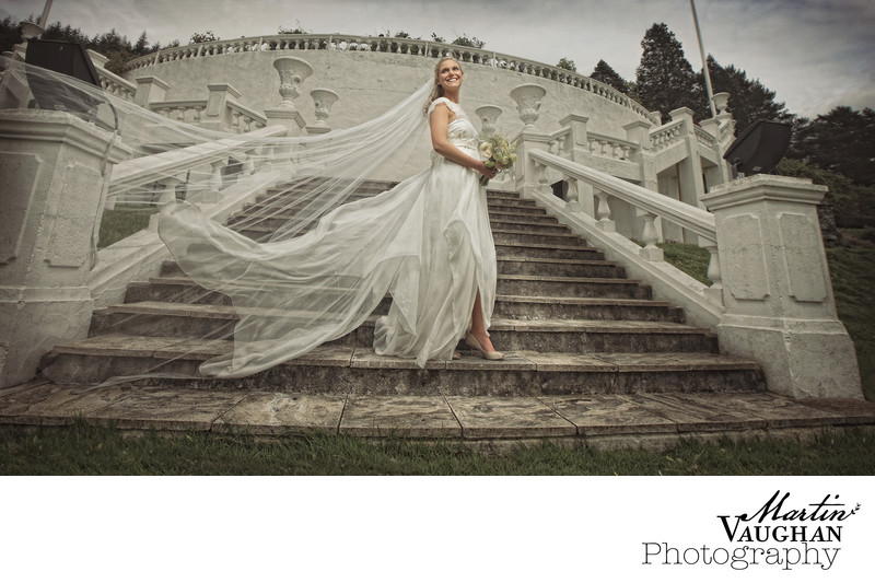 Evocative wedding photography at Plas Maenan Conwy