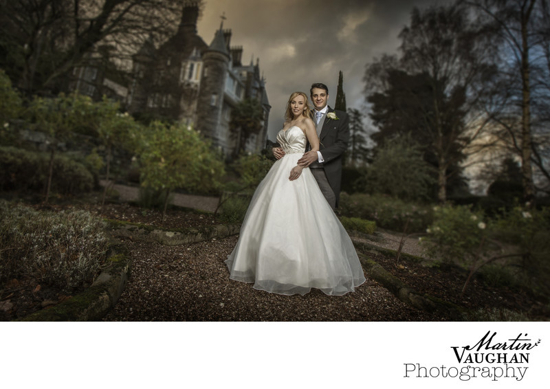 Top wedding photographs at Chateau Rhianfa Anglesey