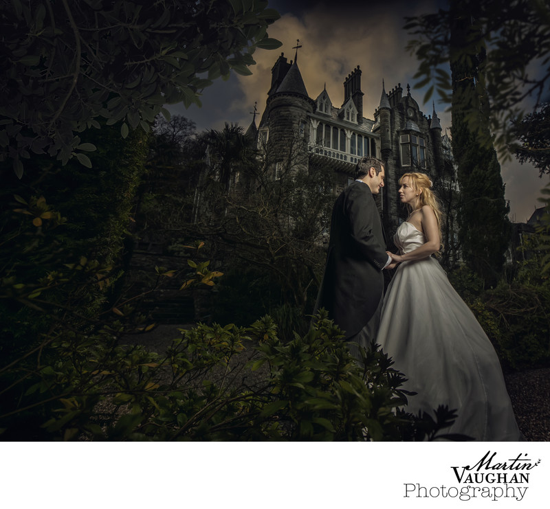 Chateau Rhianfa stunning wedding photos