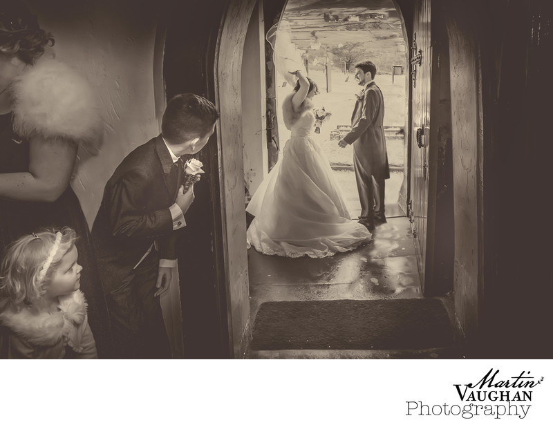 Best church wedding photographer North Wales