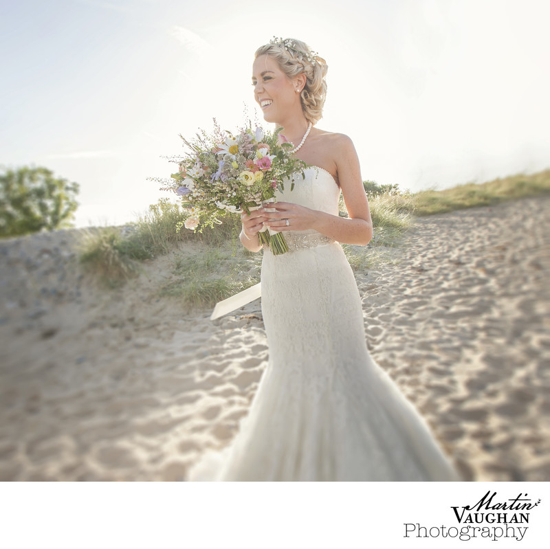 Best beach wedding photographer North Wales