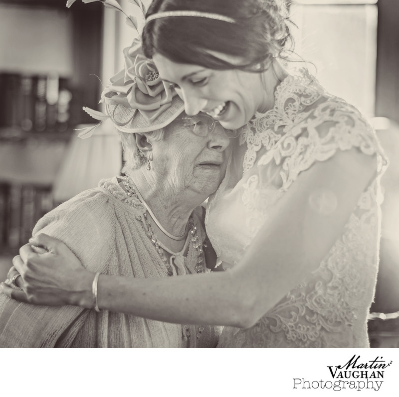 Emotional wedding imagery at Chateau Rhianfa Anglesey