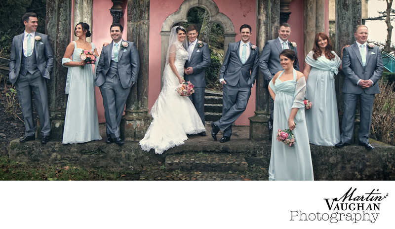 Best family wedding photography Portmeirion
