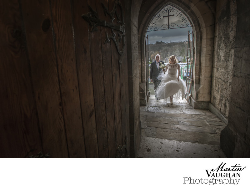 Beautiful church wedding photoraphs Bangor