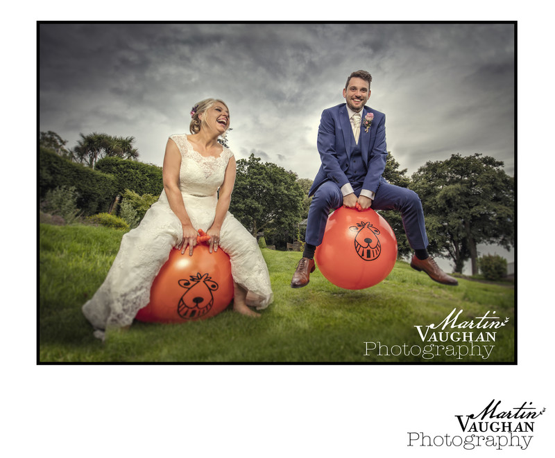Fun and stylish Wedding photography