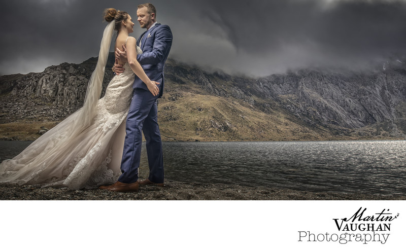 Cwm Idwal wedding photograph