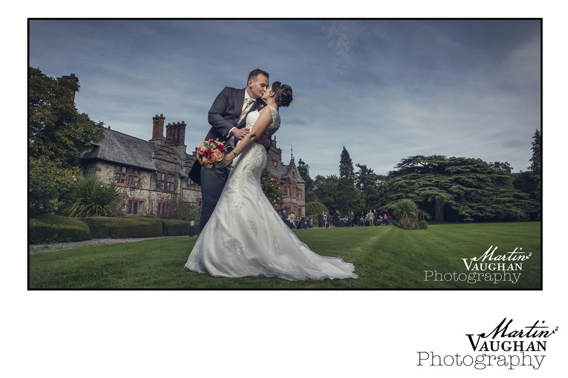 Caer Rhun Hall wedding by Martin Vaughan Photography