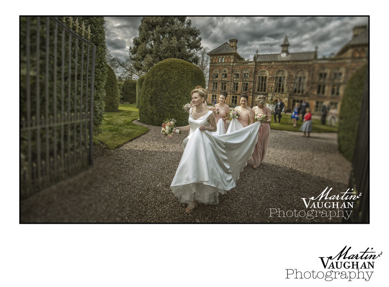 Soughton Hall wedding of Tamara and Adam by Martin Vaughan Photography