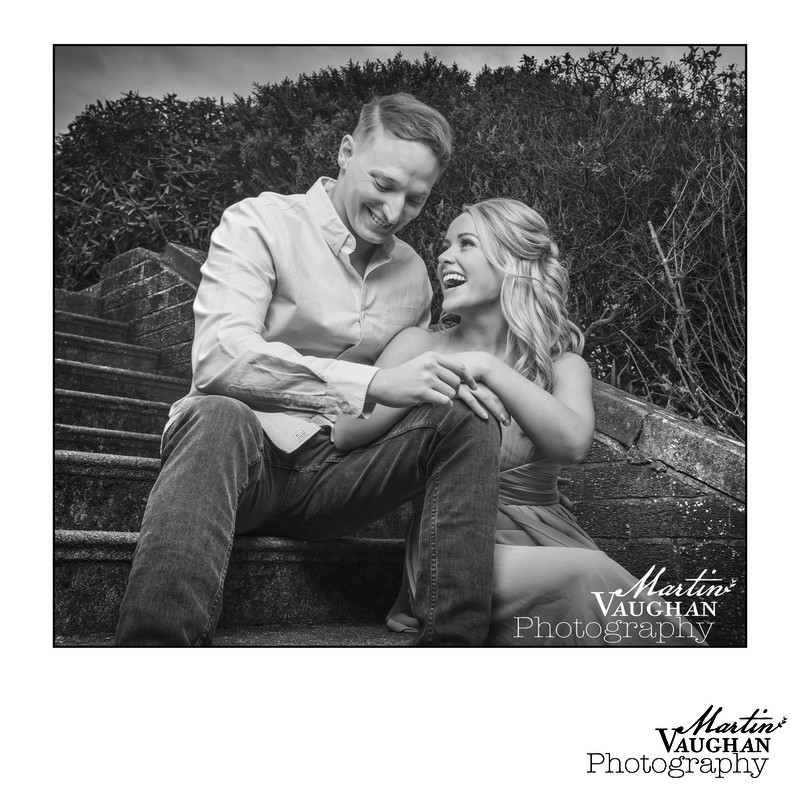 Best engagement photographer North Wales