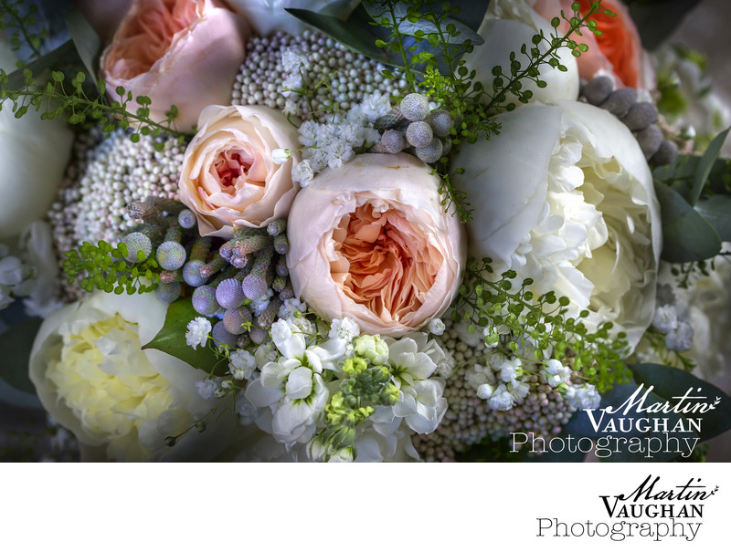 Wedding Flower Photography by Martin vaughan