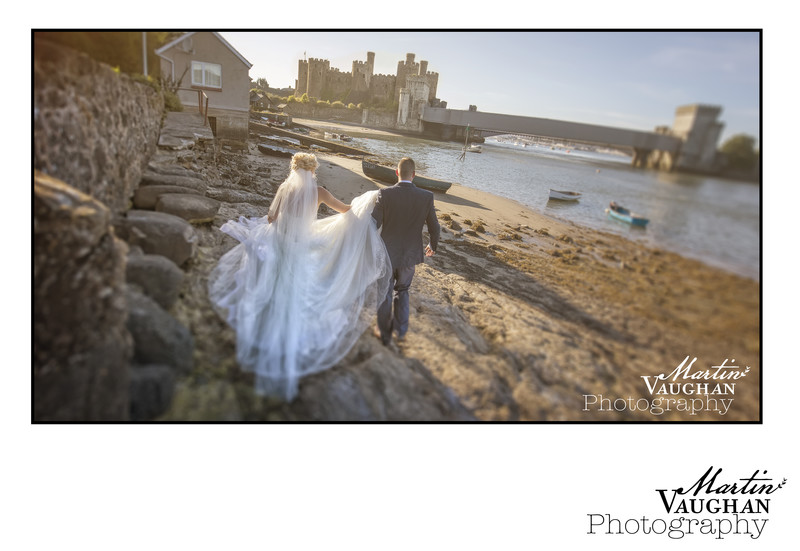 Quay Hotel best wedding photographer North wales