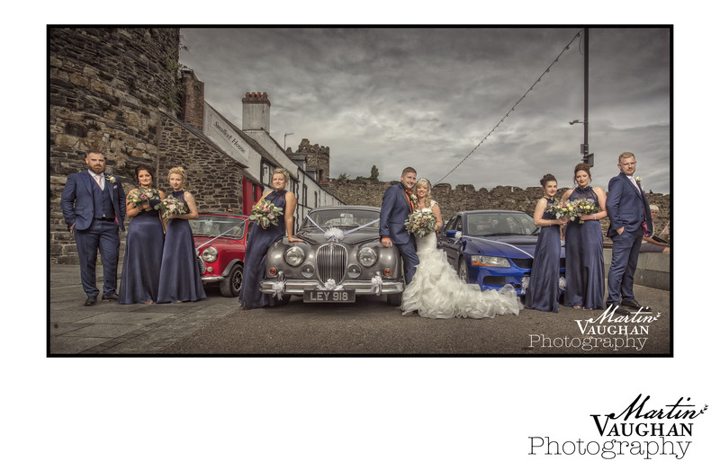 Maenan Abbey wedding