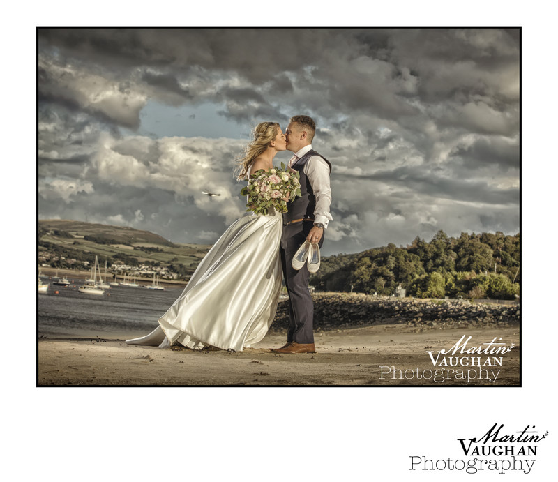 Bodnant Welsh Food best wedding photographer Martin Vaughan North Wales