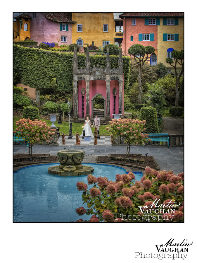 Portmeirion best wedding photographer