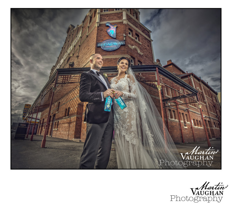 Best wedding photographer North Wales at Broadway Boulevard