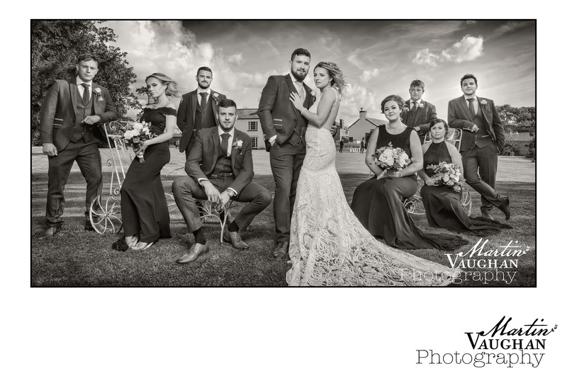 North Wales best wedding photographer at Pentre Mawr