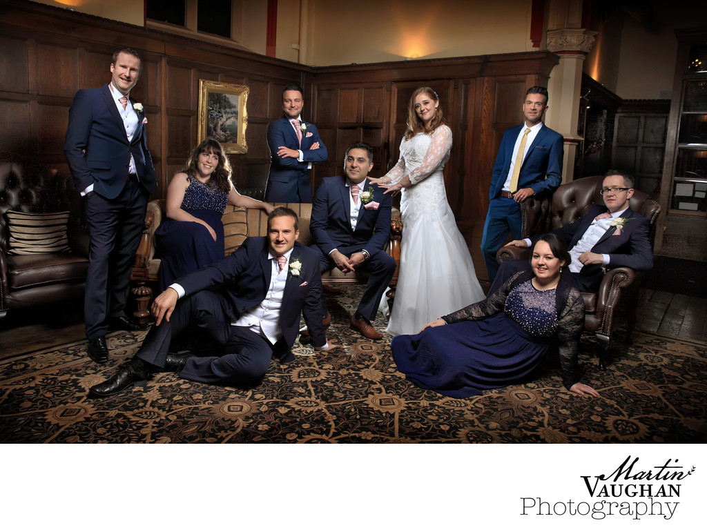 Ruthin Castle wedding photography North Wales