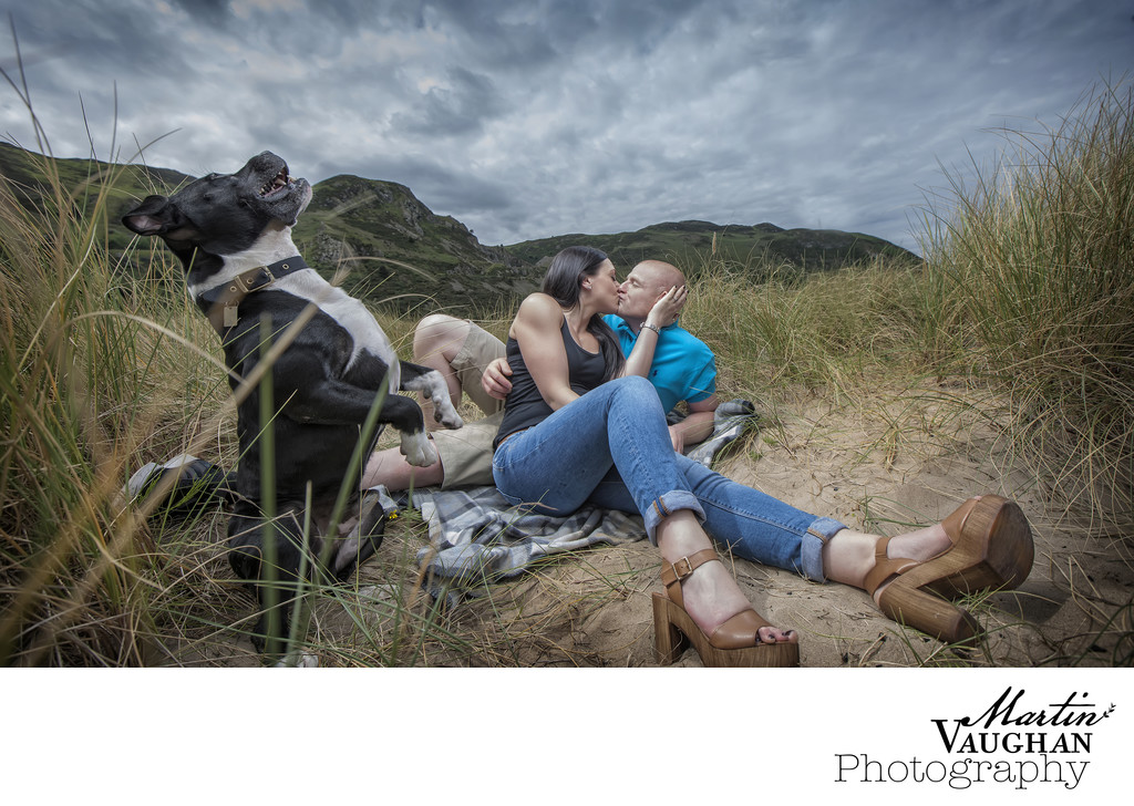 Conwy engagement wedding photographer Top engagement shoot North Wales pre wedding shoot