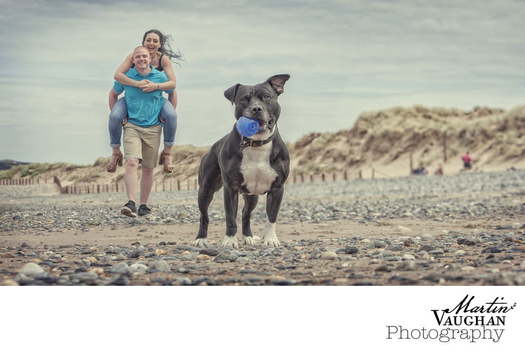 Engagement shoot in Conwy North Wales