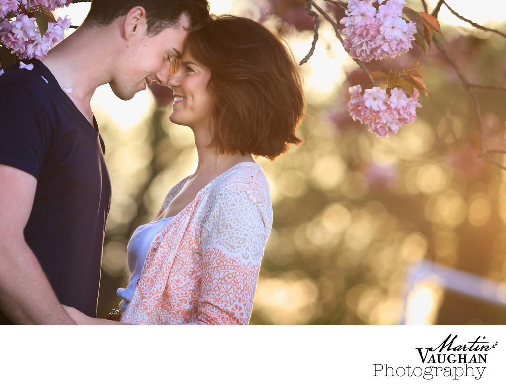 Natural intimate engagement photography in north wales