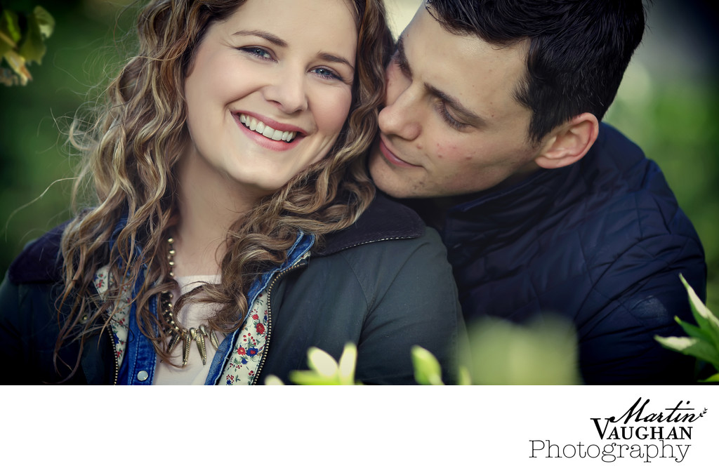 north wales engagement shoot in conwy valley