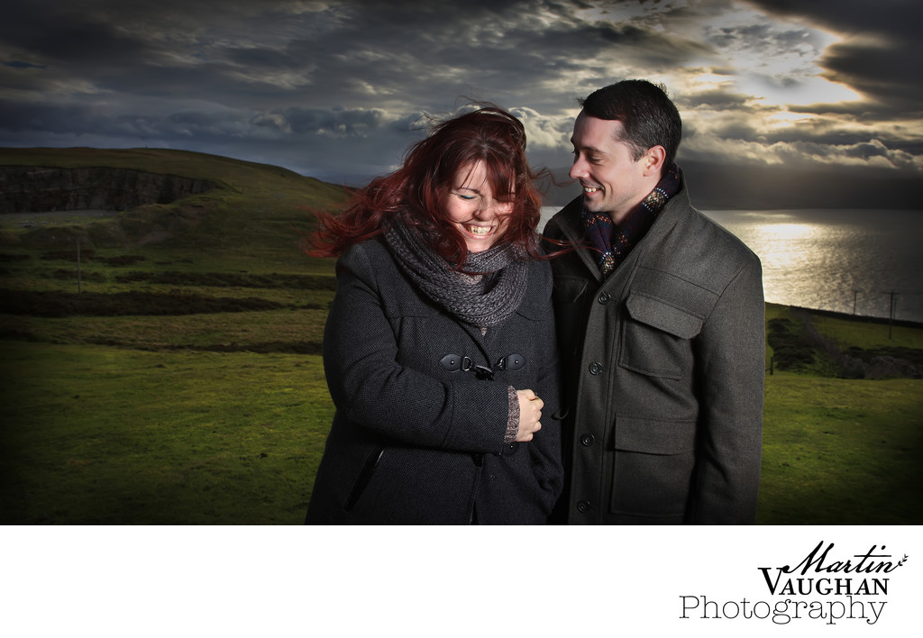 Llandudno wedding photographer shoots on orme