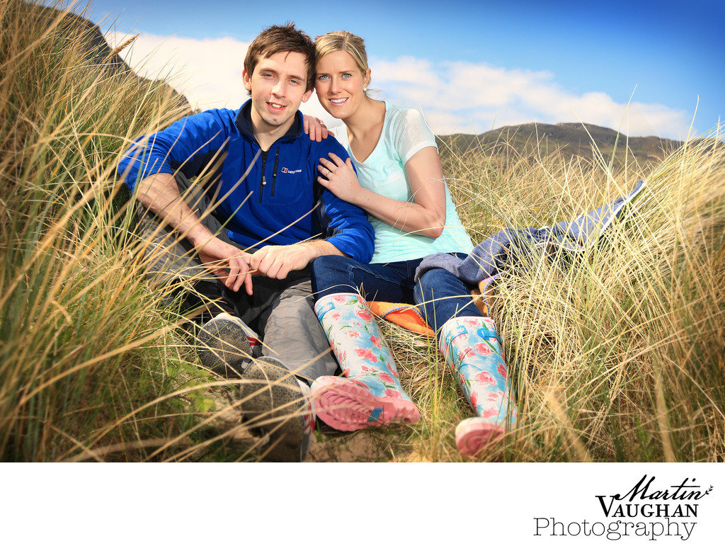 Conwy engagement shoot by Martin Vaughan Photography