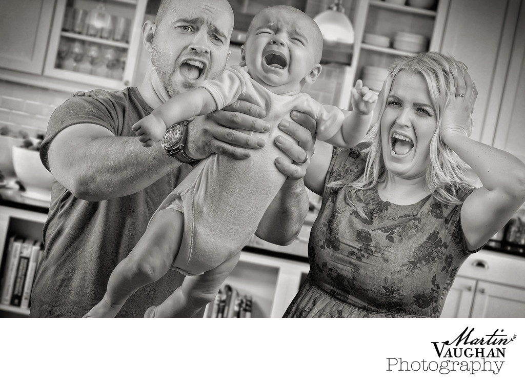 Quirky North Wales portrait photographer of families