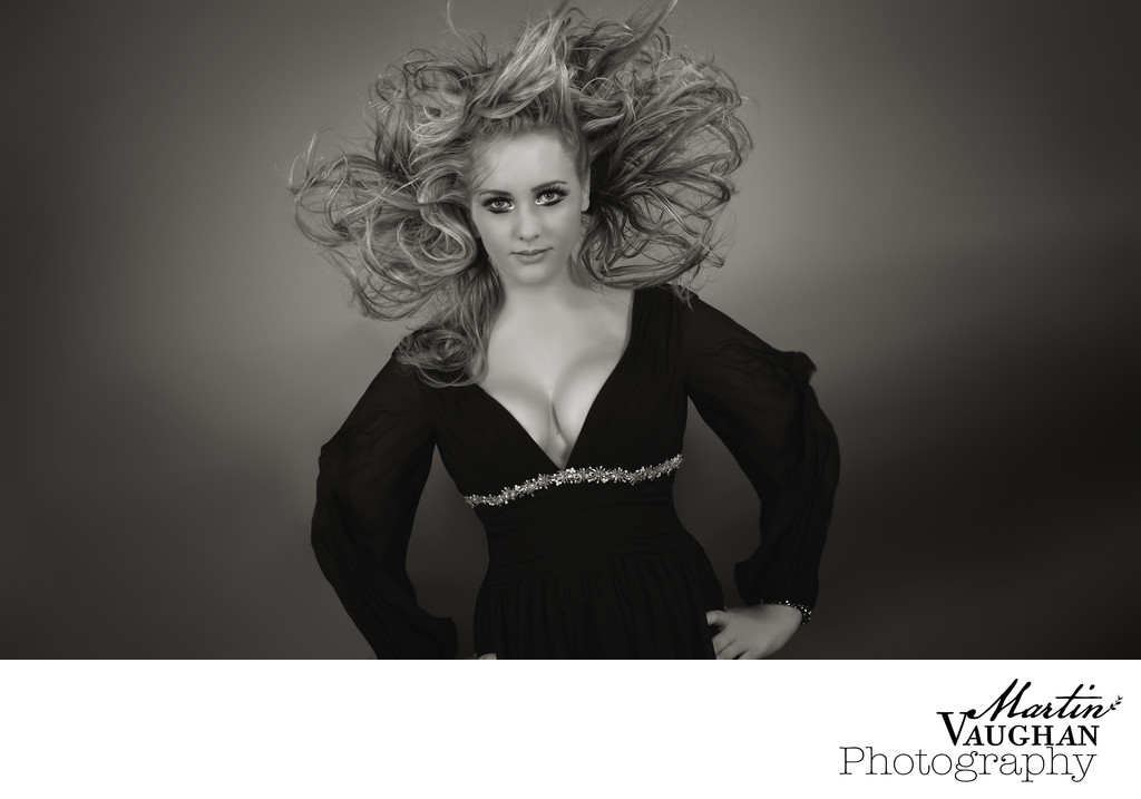 Hair model photographs for L'Oreal competition