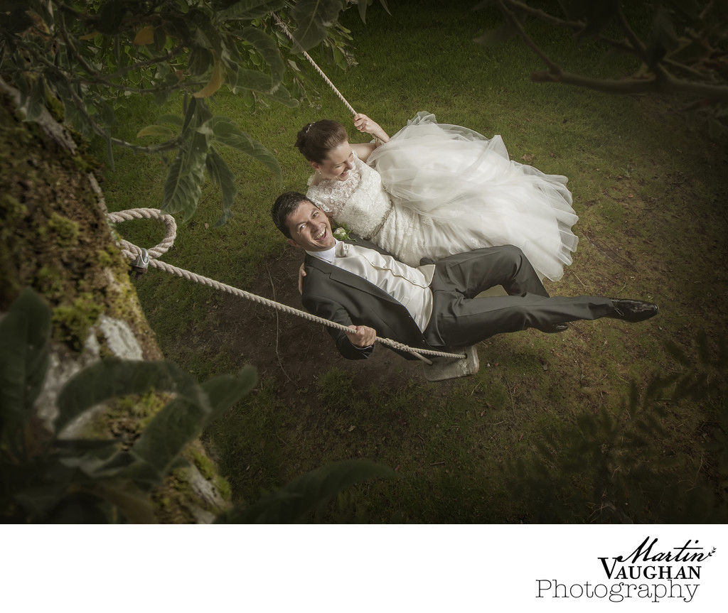 Quirky romantic Chateau Rhianfa wedding photos Anglesey