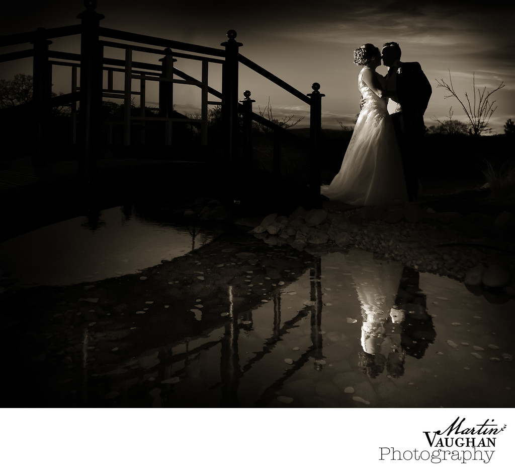 Wedding photographer at Grosvenor Pulford Cheshire
