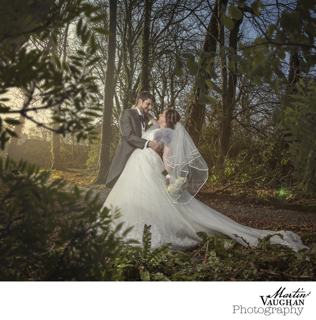 Best Tre Ysgawen wedding photographer Martin Vaughan