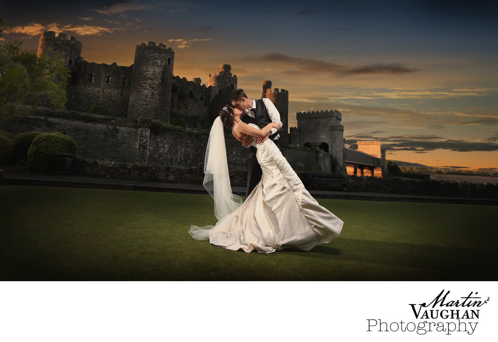Wedding Photography Sunset Deganwy Quay Hotel and Spa