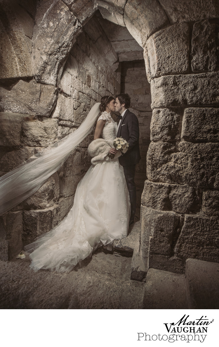 Wedding Photography at Caernarfon castle Chateau Rhianfa