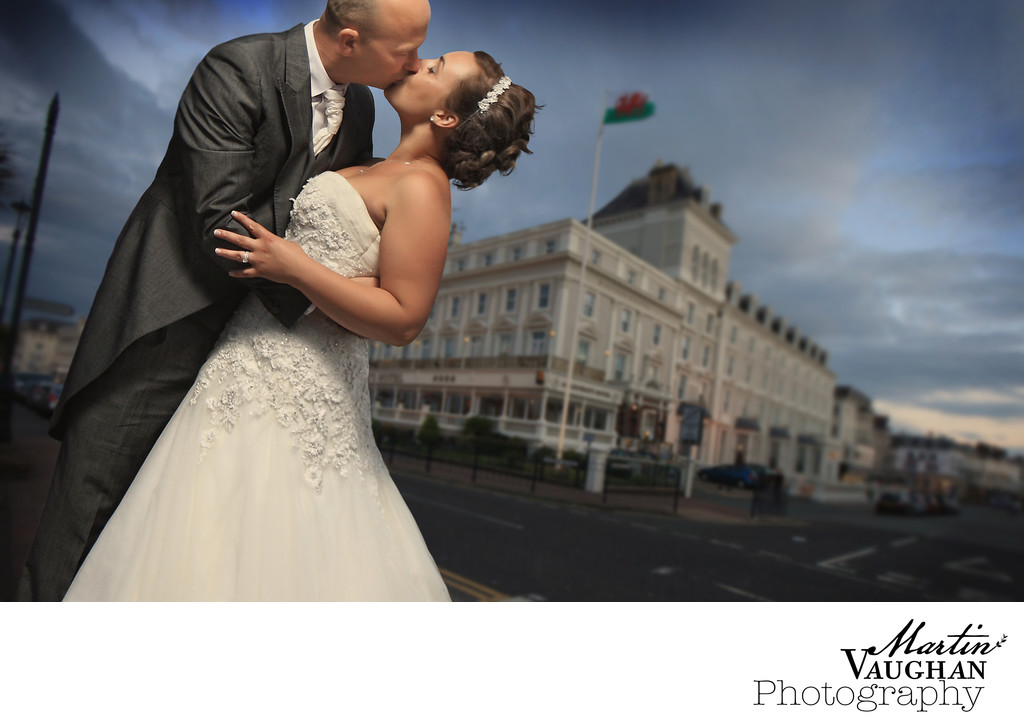 St Georges wedding Photography Llandudno