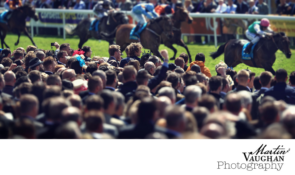 Photographs of the crowd on race day chester