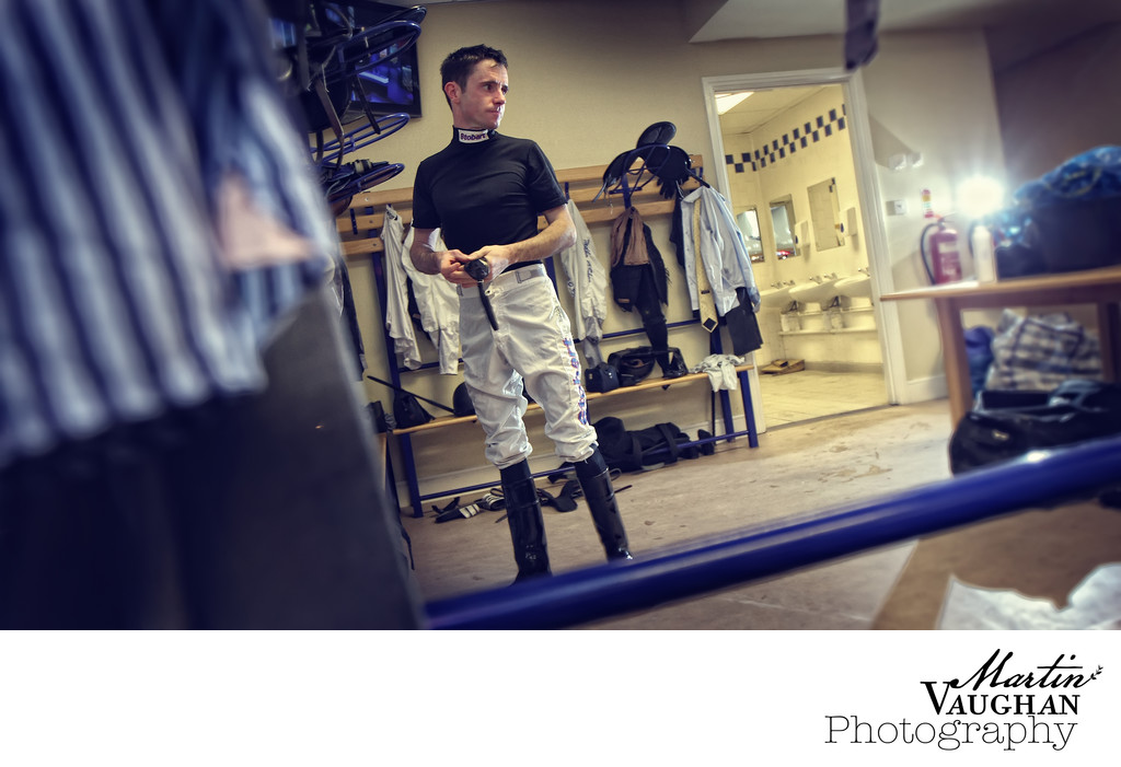 Jockey photography at Chester racecourse