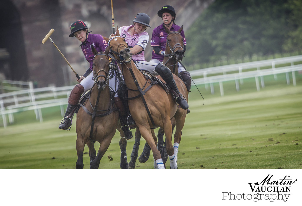 Polo photographs at Chester Racecourse