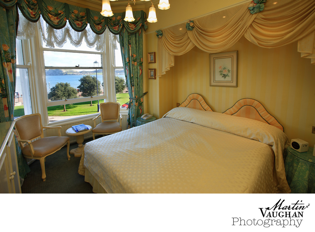 St Tudno Hotel bedroom photographs Llandudno