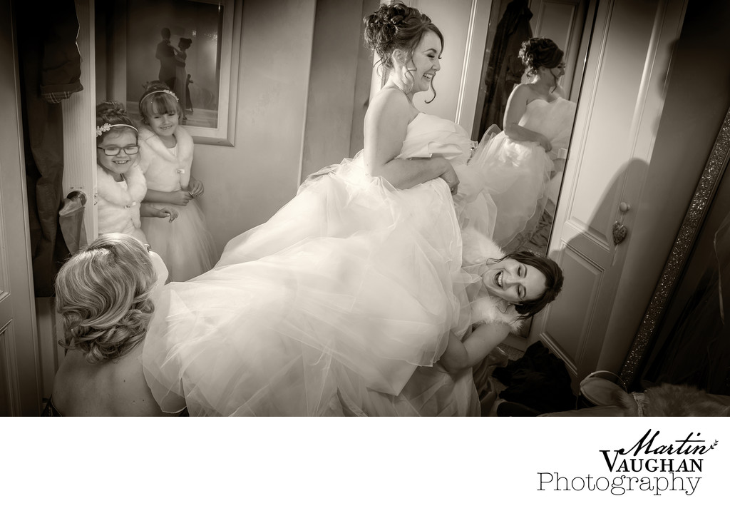 Bridal Preparations Caernarfon by Martin Vaughan