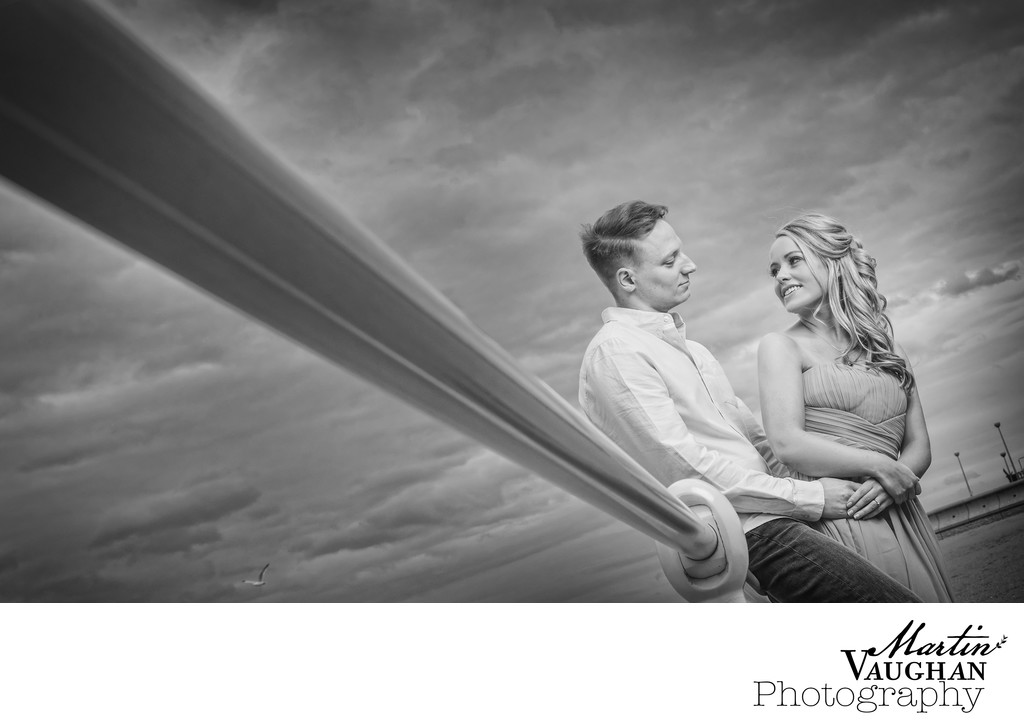 Top engagement shoot photographer in North Wales and Cheshire