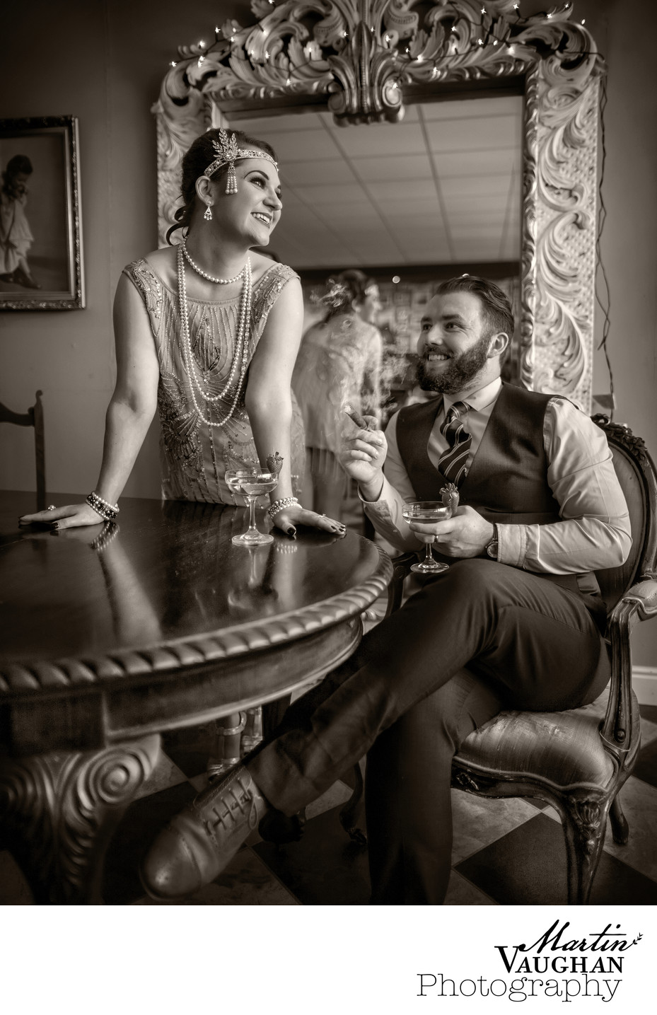 Martin Vaughan shoot at Prohibition Deganwy