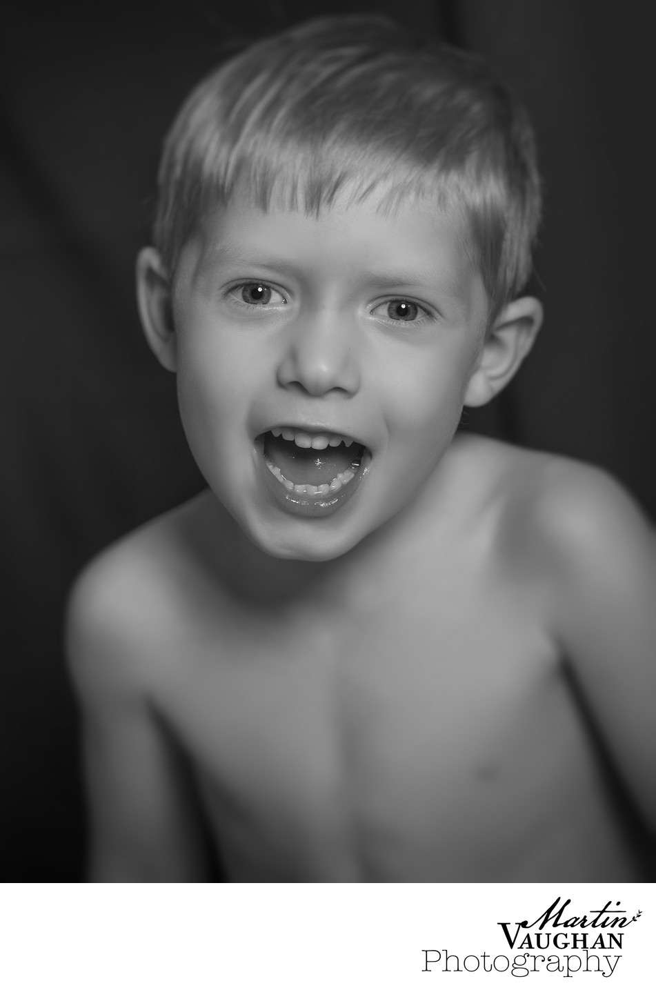 Childrens portrait photography in North Wales