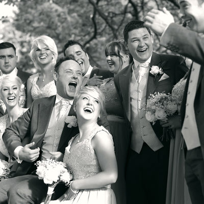 Best wedding family photos in North Wales