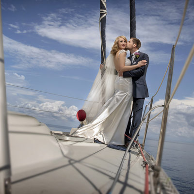 Wedding Photography at Deganwy Quay North wales