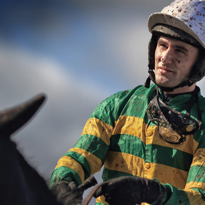 A P McCoy at Bangor on Dee photography Martin Vaughan