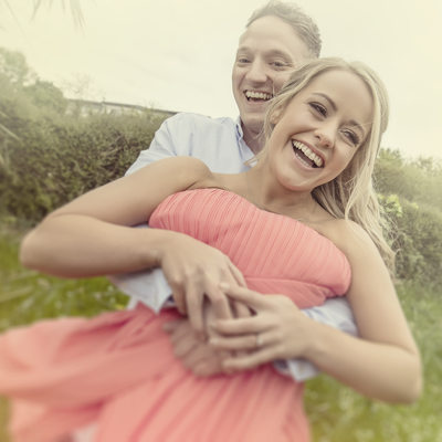 Top engagement shoot photographer in North Wales